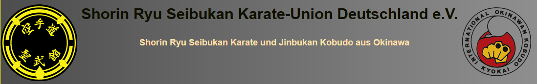 Shorin Ryu Seibukan Karate Union Deutschland